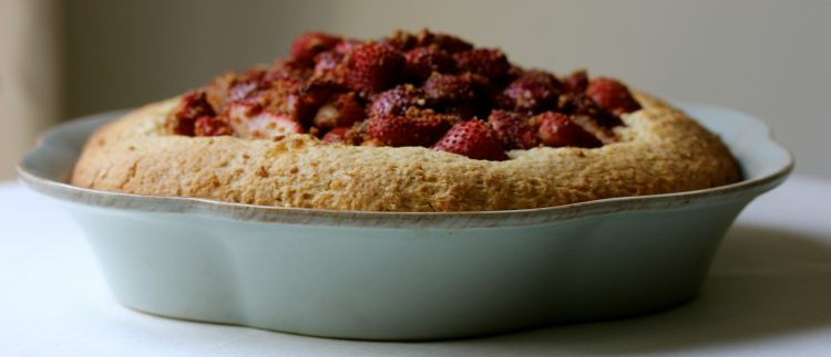 Strawberry Kuchen