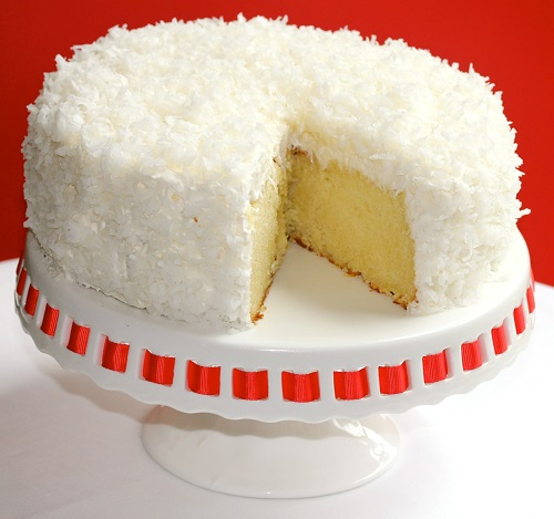 Caramel Coconut Birthday Cake