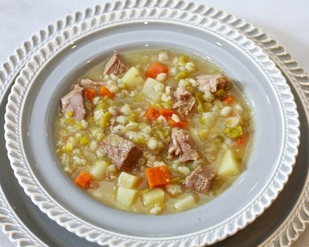 Lamb and Barley Stew