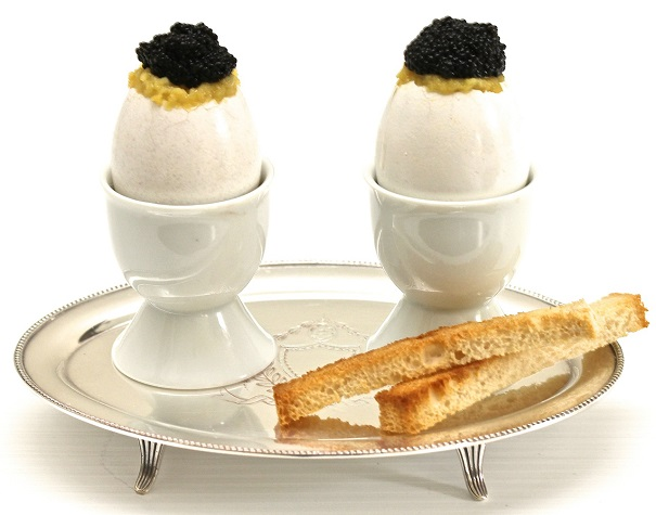Scrambled Eggs with Caviar