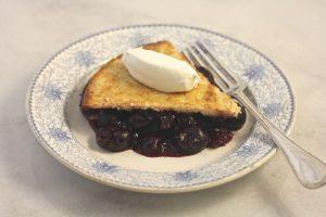 Martha Washington's Cherry Cobbler