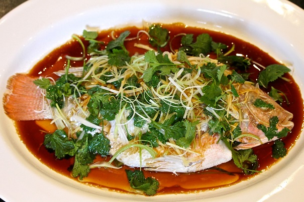 Chinese steamed fish america 39 s table for Chinese steamed fish