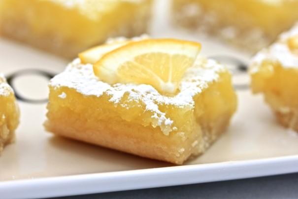 Lemon Squares with Almond Flour Crust
