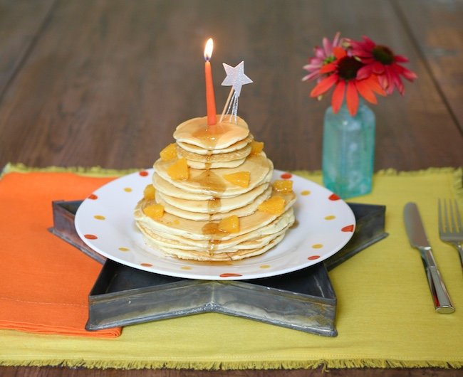 Birthday Breakfast Pancakes Americas Table