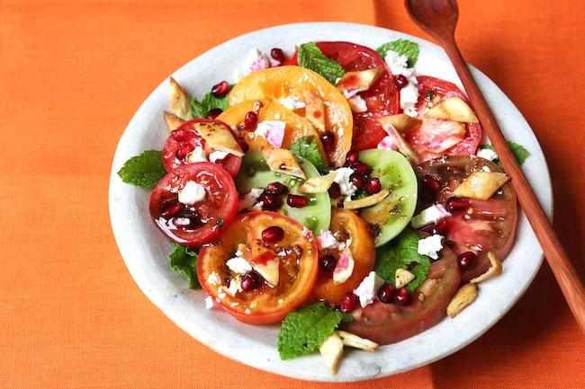 Heirloom Tomato Fattoush