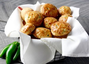 JALAPENO CHEESE BISCUITS by Matt Wendel