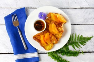 Orange-Ginger French Toast on Americas-Table.com