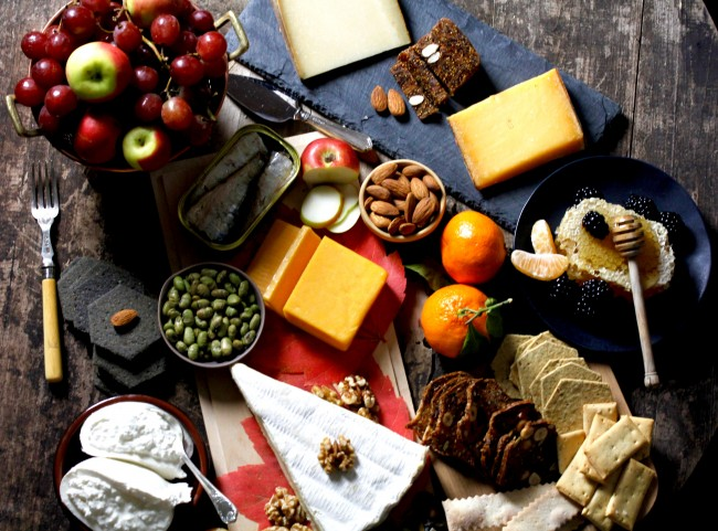 Cheese and Other Heavenly Foods