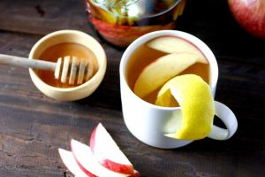 Honey Bourbon Hot Toddy on Americas-Table.com
