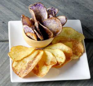 Sea Salt and Vinegar Chips on Americas-Table.com