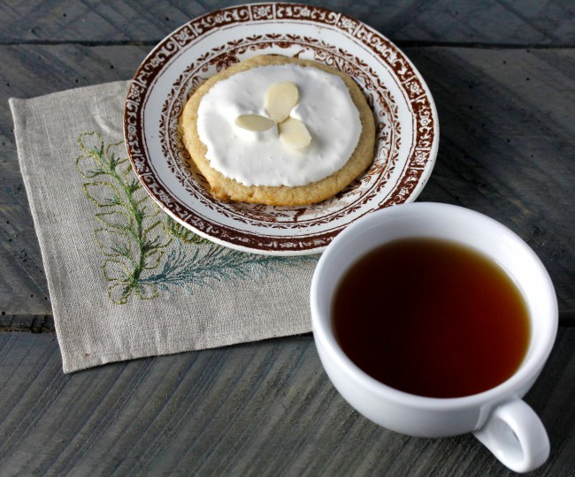 Soft Honey and Ginger Tea Cookie