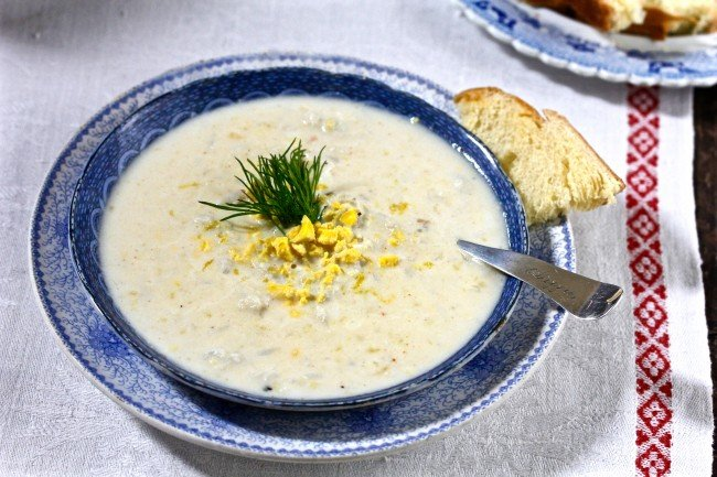 Martha Washington's Crab Soup on Americas-Table.com