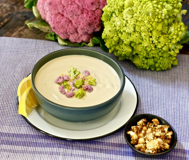 CAULIFLOWER CHOWDER on Americas-Table.com