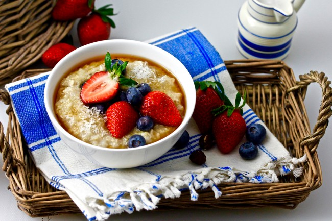 OATMEAL QUINOA HOT CEREAL on Americas-Table.com