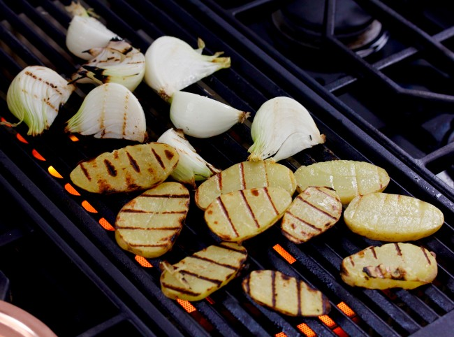 GRILLED POTATO SALAD on Americas-Table.com