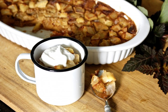 Baked Apple Terrine with Calvados