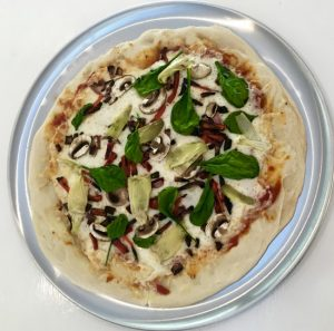 LAURA BUSH'S WHOLE WHEAT PIZZA on Americas-Table.com