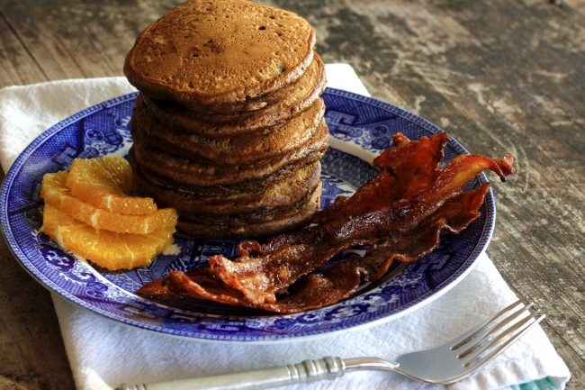Ginger Pancakes and Maple Bacon