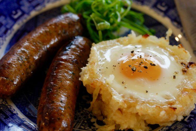 Cheesy Eggs and Potatoes