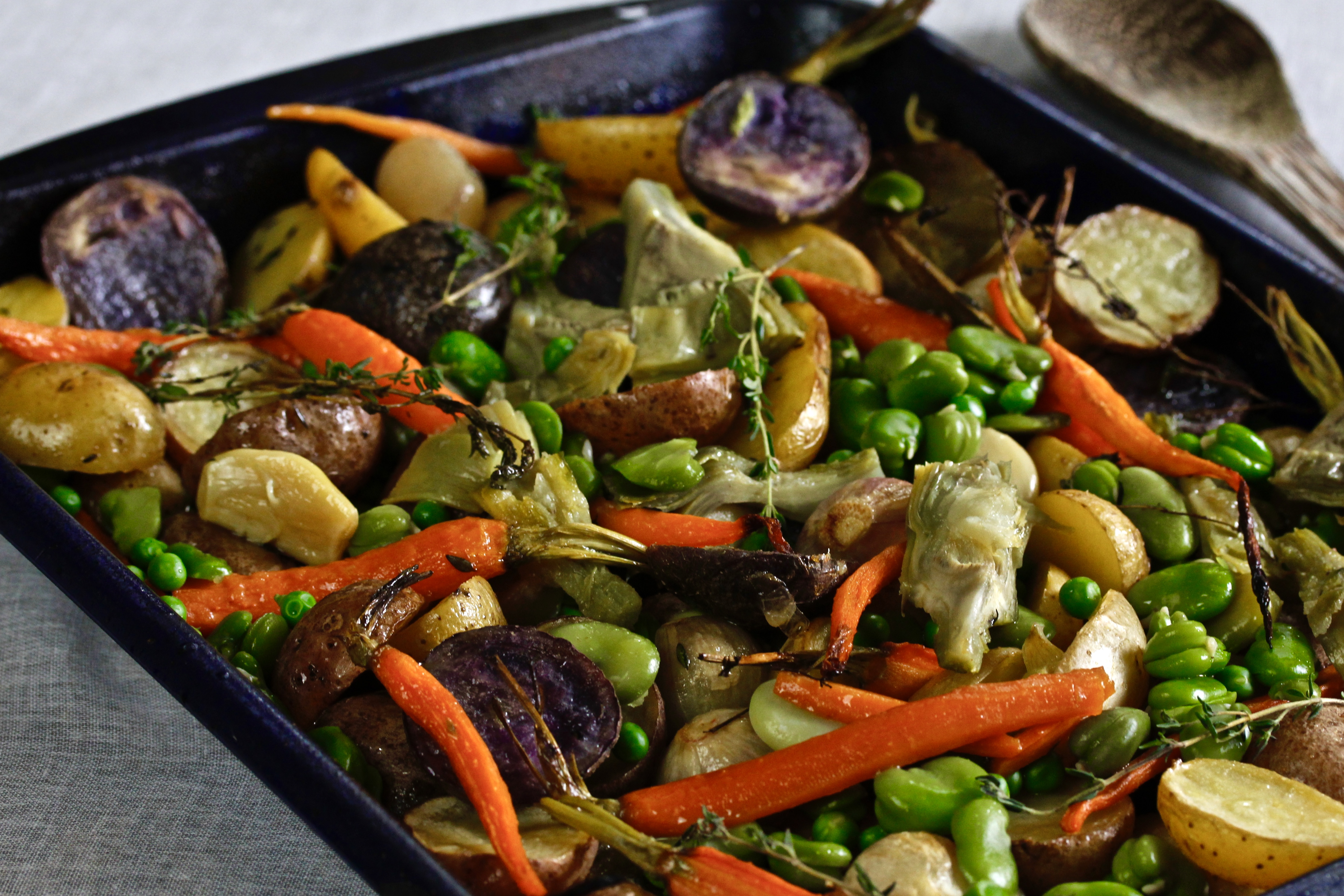 Roasted Spring Vegetables America S Table
