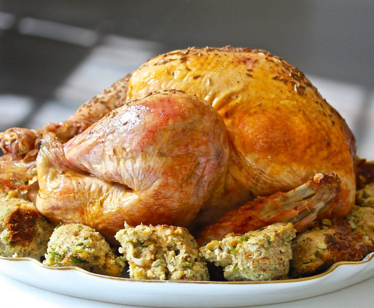 Roast Turkey with Caraway Seeds