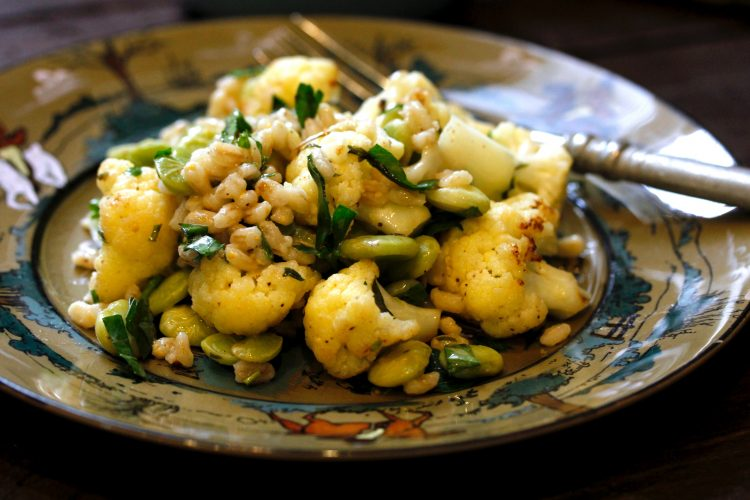 BARLEY CAULIFLOWER SALAD