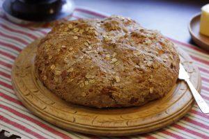 Oatmeal Cheddar Bread