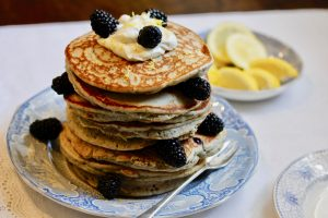 Blackberry Lemon Pancakes