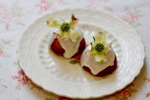 Almond Elderflower and Lime Travel Cakes