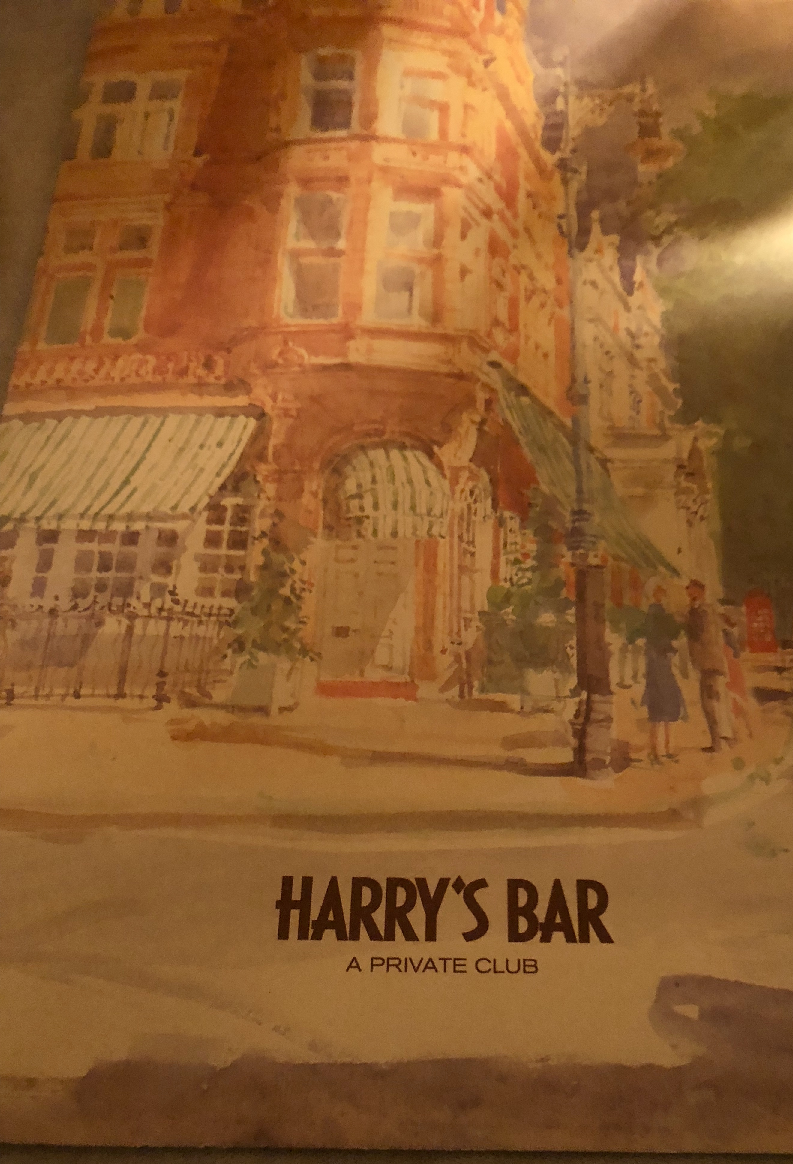 Harry's Bar a favorite dinner spot