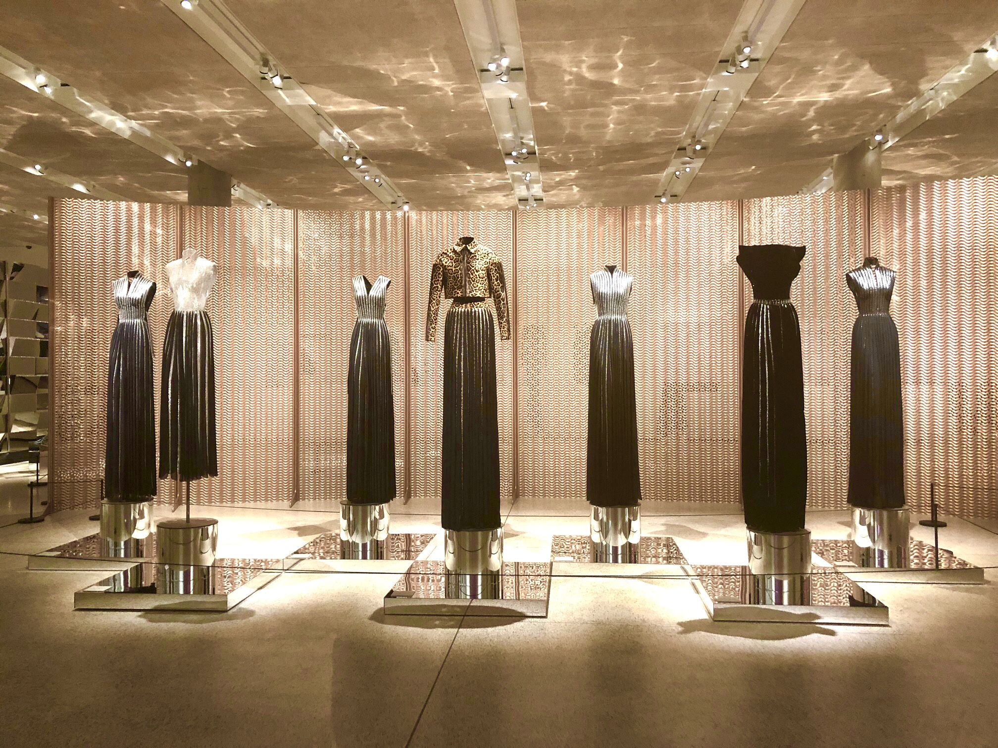 Alaia exhibit at The Design Museum