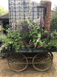 One of the Petersham flower carts