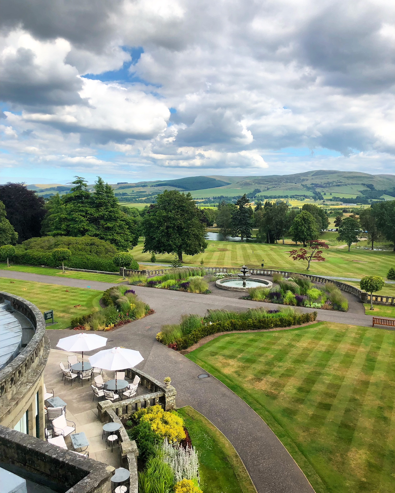 View from Gleneagles