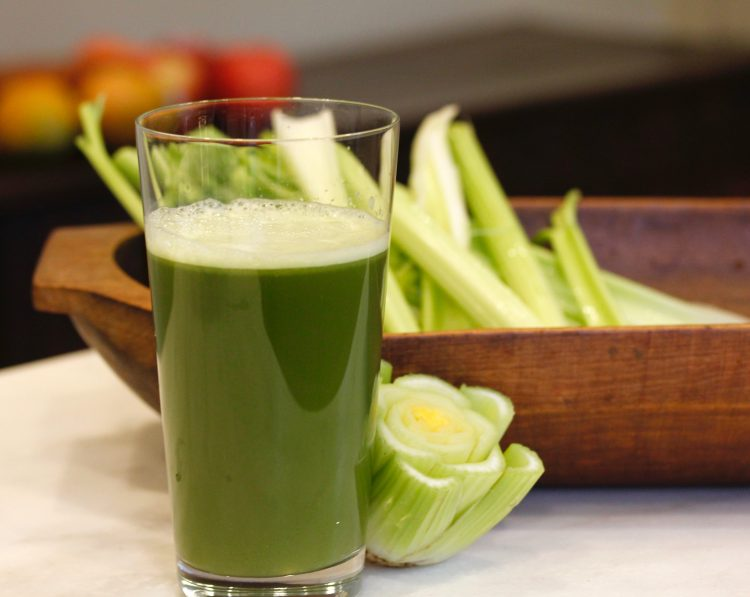 Celery Juice Goes Viral