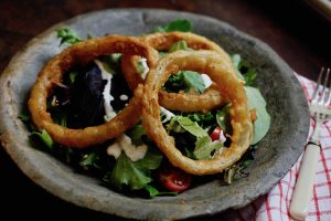 Onion Ring Salad