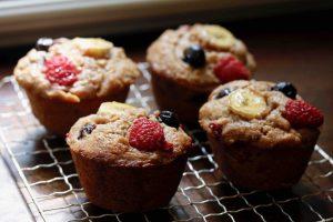 Three Fruit Muffins